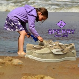 Sperry Top-Sider Kids Songfish Jr. Girls Boat Shoe